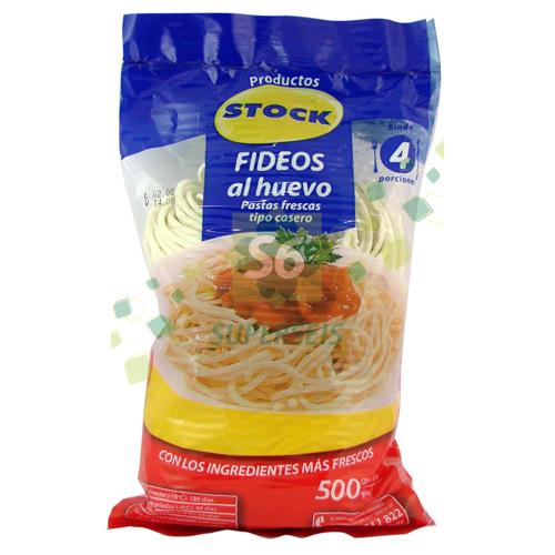 Foto FIDEOS AL HUEVO STOCK 500 GR de