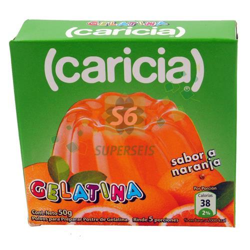 Foto GELATINA CARICIA NARANJA 50 GR de