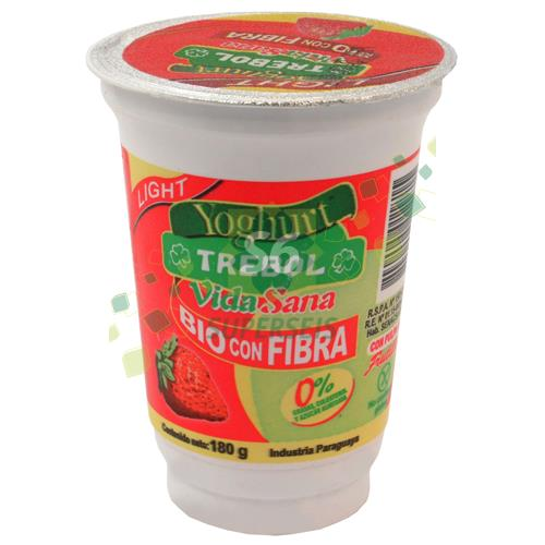 Foto YOGURT TREBOL BIO FIBRA FRUTIL LIGHT X180 GR de
