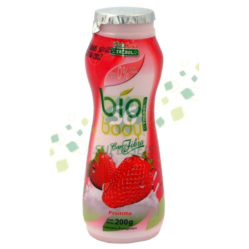 Foto YOGURT TREBOL BIO BODY FRUTI BOTELLA 200M de