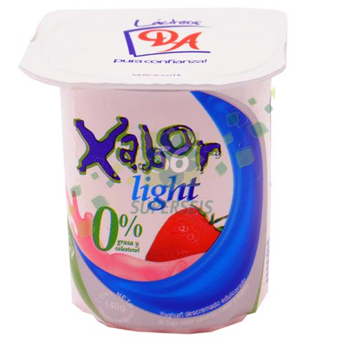 Foto YOGURT XABOR LIGHT FRUTILLA POTE 140 GR de
