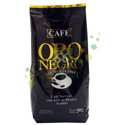 Foto CAFE ORO NEGRO PAQUETE 250 GR MOL de