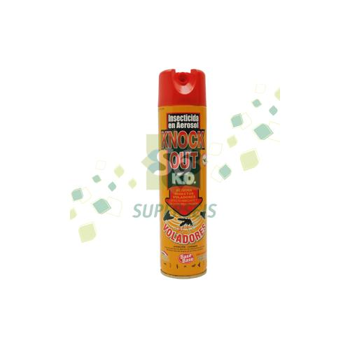 Foto INSECTICIDA AEROSOL KNOCK OUT VOLADORES 330ML BASE BASE de