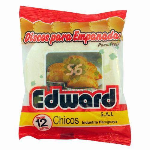 Foto DISCO PARA EMPANADA EDWARD 12 UNIDADES de