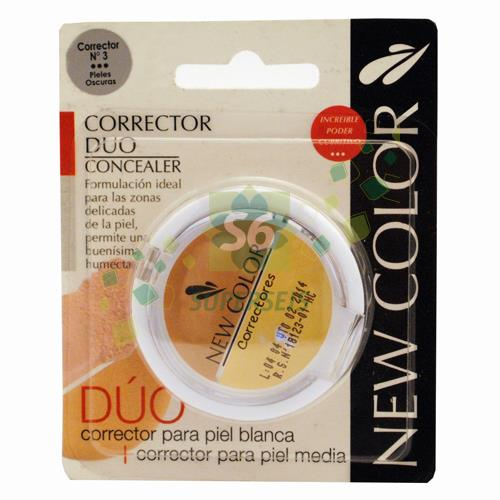Foto CORRECOTR DE OJERAS NEW COLOR DUO N 3 de