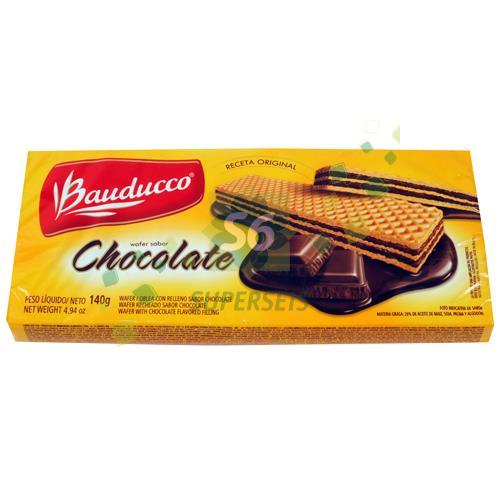 Foto WAFFER BAUDUCCO CHOCOLATE PAQUETE 140 GR de