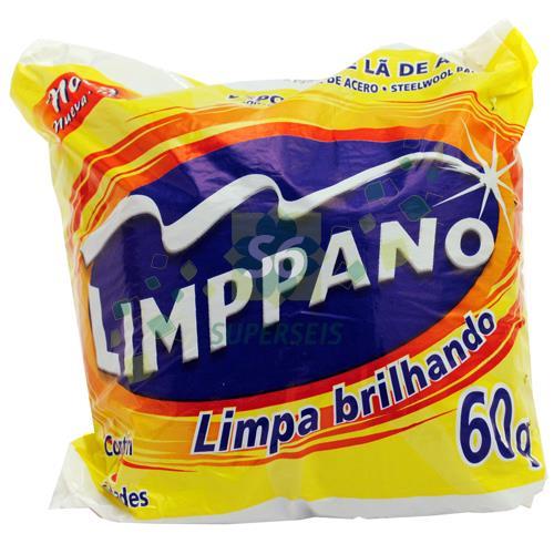 Foto LANA DE ACERO LIMPPANO 8 UNIDADES de