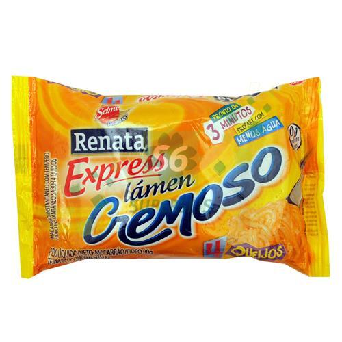 Foto FIDEO RENATA EXPRESS CREMA 4 QUESOS PAQUETE 88GR de