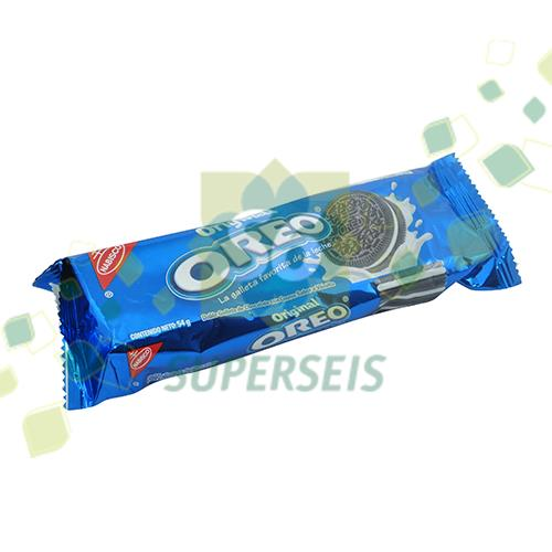 Foto GALLETITA DOBLE CHOCOLATE 54GR OREO PAQUETE  de