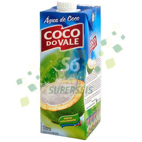 Foto AGUA DE COCO 1 LITRO COCO DO VALE TET de