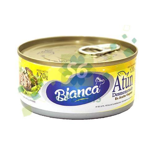 Foto ATUN GRATED BIANCA EN ACEITE 170 GR. de