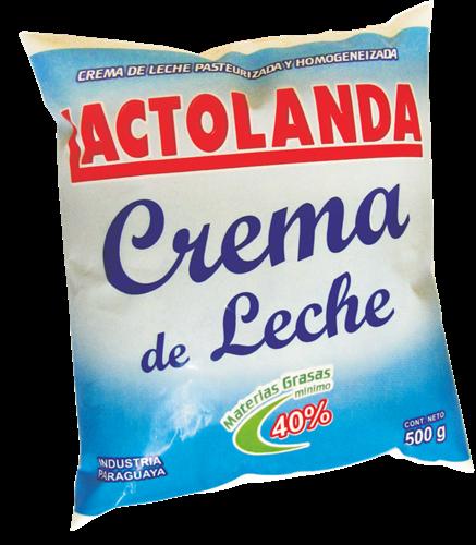 Foto CREMA DE LECHE LACTOLANDA 500ML SCH de