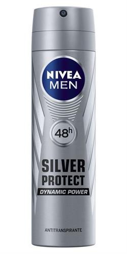 Foto DESODORANTE NIVEA SILVER PROTEC AER150 ML FOR MEN de