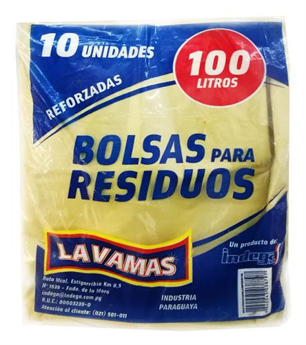 Foto BOLSA PARA BASURA INDEGA 10*100LT REF. de