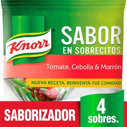 Foto SABOR TOMATE/CEBOLLA Y MORRON 30 GR KNORR PLAS de