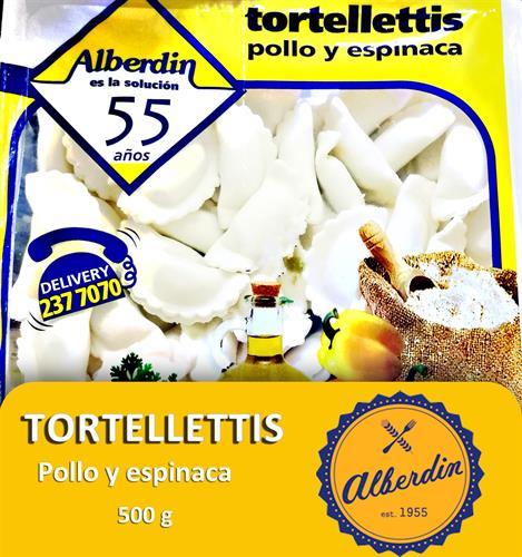 Foto TORTELLETTIS DE POLLO Y ESPINACA 500GR ALBERDIN PAQUETE  de