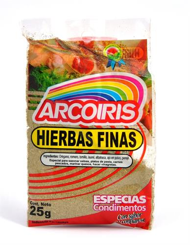 Foto HIERBAS FINAS 25 GR ARCOIRIS SOB de