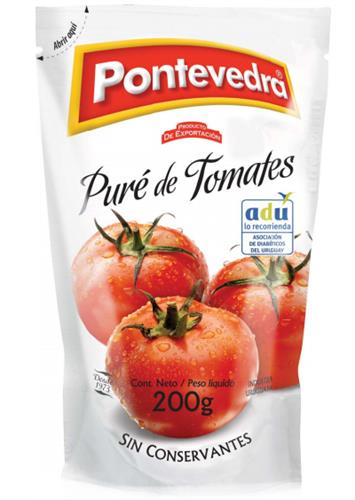 Foto PURE DE TOMATES 200 GR PONTEVEDRA DOYPACK de
