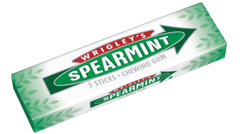 "Foto CHICLES"" WRIGLEY ""SPEARMINT CAJA 5UN de"