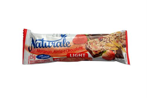 Foto BARRA CEREAL LIGHT FRUTILLA/AVENA Y CHOCOLATE 25 GR. NATURALE DISPLAY de