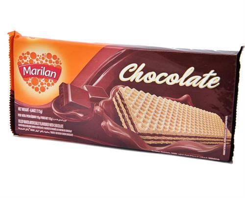 Foto GALLETITA WAFER CHOCOLATE 115GR MARILAN PAQUETE  de