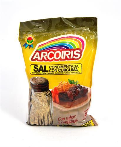 Foto SAL CONDIMENTADA CON CURCUMA 400GR ARCOIRIS BSA de