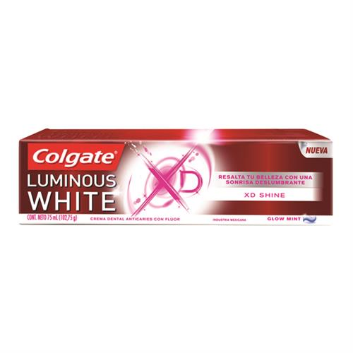 Foto CREMA DENTAL XD SHINE LUMINOUS WHITE COLGATE 106GR CJA de