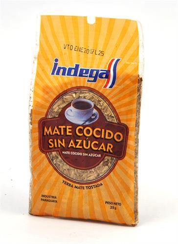 Foto MATE COCIDO SIN AZUCAR 25 GR INDEGA BSA de