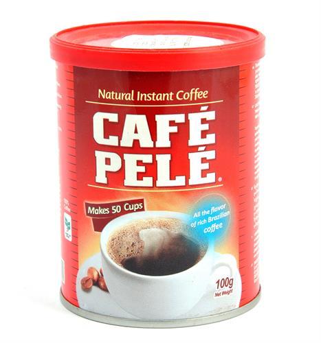 Foto CAFE SOLUBLE 100GR CAFE PELE LATA de