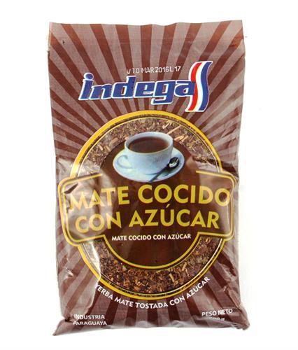 Foto MATE COCIDO CON AZUCAR 200 GR INDEGA BSA de