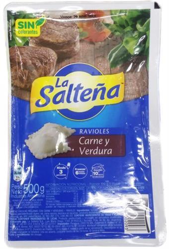 Foto RAVIOLES DE CARNE Y VERDURAS 500GR LA SALTEÑA BSA  de