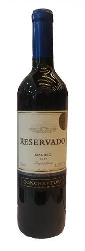 Foto VINO RESERVADO MALBEC 750ML CONCHA Y TORO BOT de