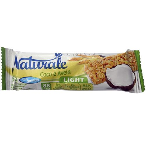 Foto BARRA CEREAL LIGHT COCO/AVENA 25 GR. NATURALE DISPLAY de