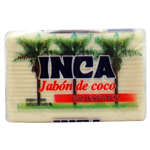 Foto JABON EN PAN INCA COCO PACK 135 GR de