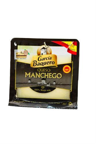 Foto QUESO MANCHEGO SEMICURADO 150GR GARCIA BAQUERO EN V de