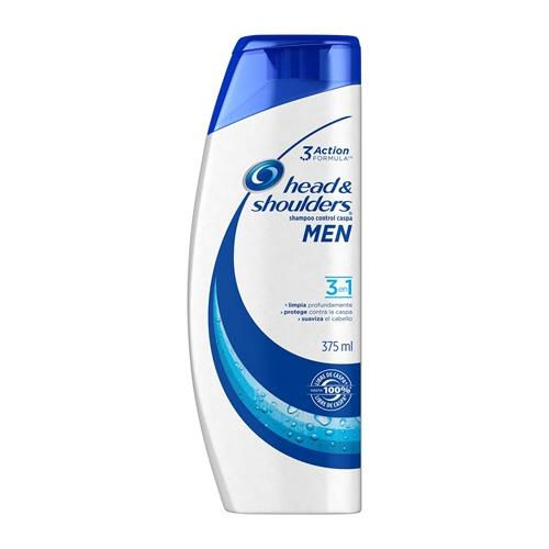 Foto SHAMPOO MEN 3 EN 1 375ML HEAD SHOULDERS FCO  de