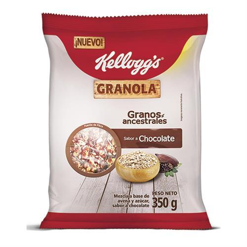 Foto GRANOLA SABOR CHOCOLATE 350 GR KELLOGGS BSA  de
