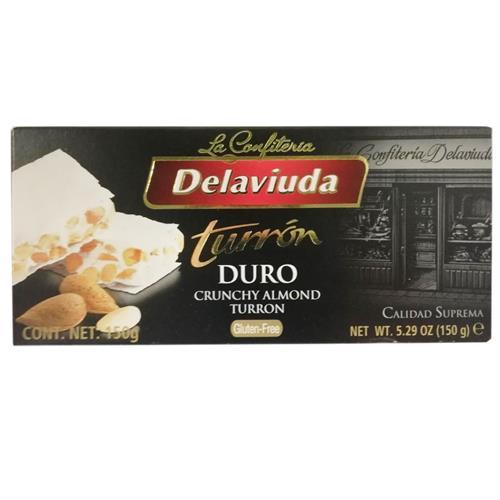 Foto TURRON DE LA VIUDA DURO X 150GR CJA  de