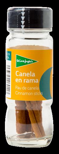 Foto CANELA EN RAMA 10GR EL CORTE INGLES FCO de
