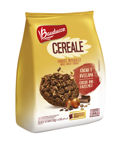 Foto GALLETITA CEREALE BAUDUCCO COOKIE INTEG CACAO/AVEL X 140 GR  de