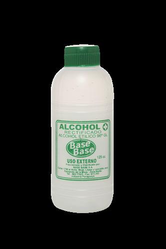 Foto ALCOHOL RECTIFICADO BASE BASE BOTELLA 125 CC de