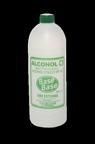 Foto ALCOHOL RECTIFICADO BASE BASE BOTELLA 500 CC de