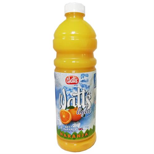 Foto JUGO NECTAR NARANJA LIGHT 1500ML WATTS PET de