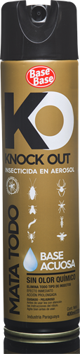 Foto INSECT. MATA TODO ACUOSO KNOCK OUT 400ML BASE BASE AER de