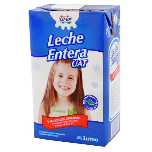 Foto LECHE ENTERA COOP 1 LITRO de