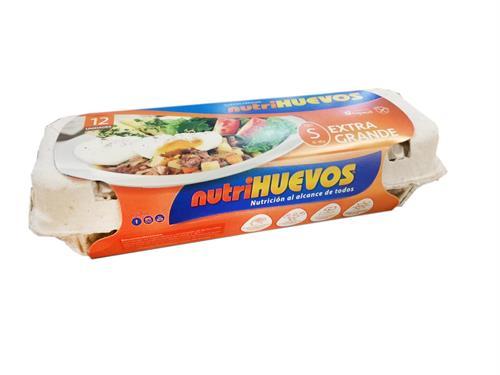 Foto HUEVOS TIPO S POR 12 UN NUTRIHUEVOS CJA de