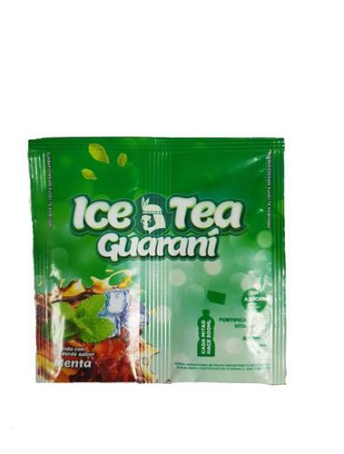 Foto BEBIDA EN POLVO LIGHT CON EXTRACTO DE TE VERDE SABOR MENTA 9GR ICE TEA GUARANI SOBRE  de
