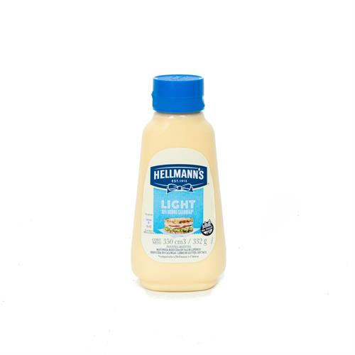 Foto MAYONESA LIGHT 332GR HELLMANNS POT de
