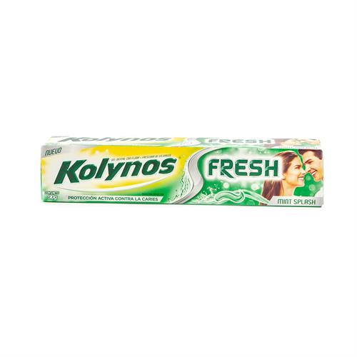 Foto CREMA DENTAL FRESH MINT 90 GR KOLYNOS CAJA de