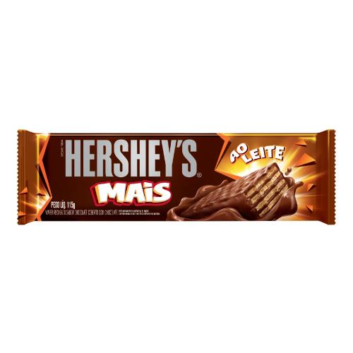 Foto CHOCOLATE HSY WAFER MAIS ECREME 115GR de